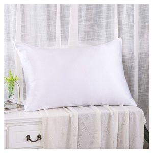 Luxury 100% silk pillowcase Ivory